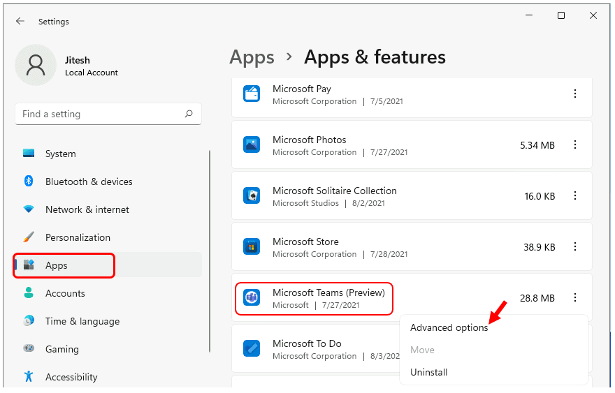 Enable or Disable Startup Apps in Windows 11