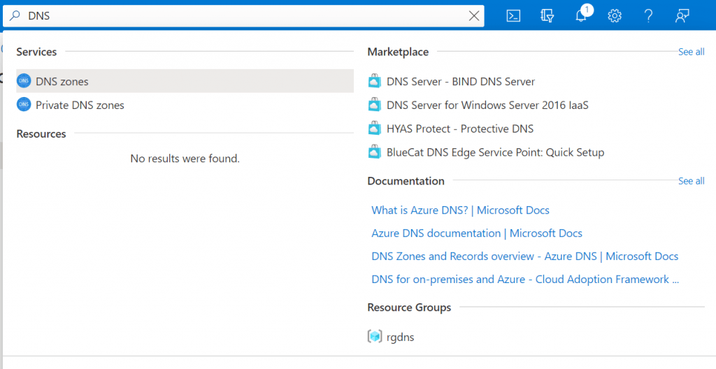 Azure DNS Zones - Create Azure DNS Zones step-by-step guide