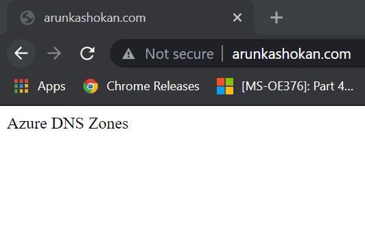 Create Azure DNS Zones step-by-step guide 7