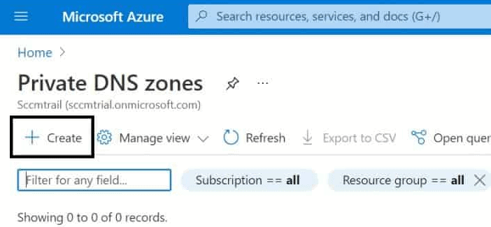 Create Private DNS Zones in Azure | step-by-step guide 1